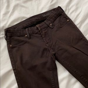 Blank NYC Brown Denim Skinny Jeans